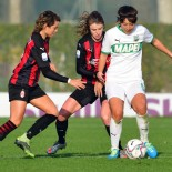 X Giornata di Andata Serie A Femm.le 2020/21: Milan vs. Sassuolo