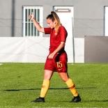 Annamaria Serurini dopo il goal