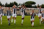 esultanza finale della Juve presso i tifosi bianconeri