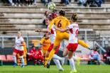 Di Criscio per il primo goal della Roma