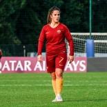 Flaminia Simonetti autrice del primo goal della Roma