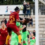 Allyson Swaby segna il primo goal della Roma