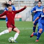 Bonfantini nell'azione del secondo goal
