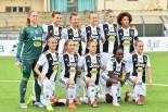 Formazione iniziale della Juventus Women