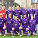 Formazione iniziale della Fiorentina Women's