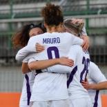 Esultanza della Fiorentina