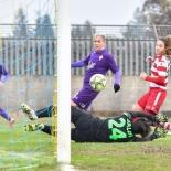 Primo gol di Lana Clelland