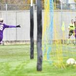 Lana Clelland esulta dopo il gol