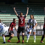 Andata semifinali coppa italia calcio femmiile - Milan vs Juvetus
