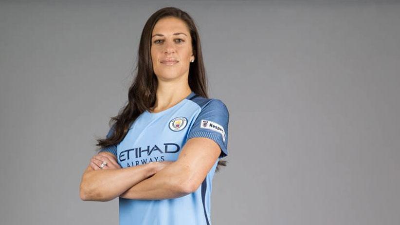 super popular bf9d7 bfc54 Carly Lloyd firma per il Manchester City Women - Calcio ...
