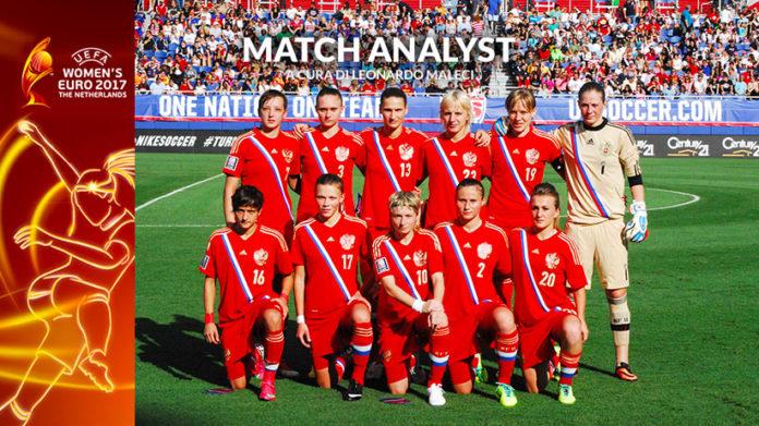 Match Analysis UEFA Women's EURO 2017: la Nazionale Russia ...