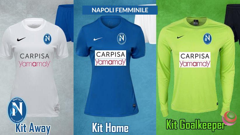 37ed65ca40724 Nike sponsor tecnico del Napoli Femminile per la prossima stagione ...