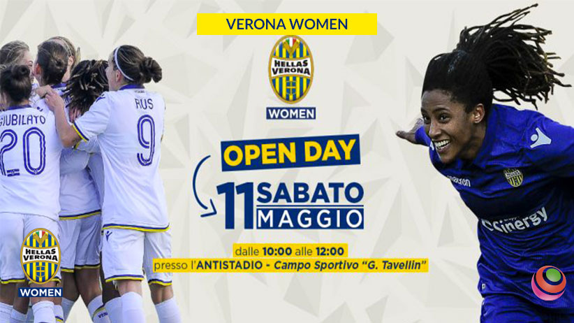 6cccdc67d Open day – calcio femminile l'11 maggio: aperte le iscrizioni ...