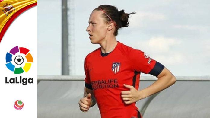Pauline Peyraud Atlético Madrid