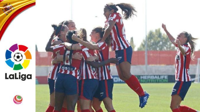 Atlético Madrid festeggiamento