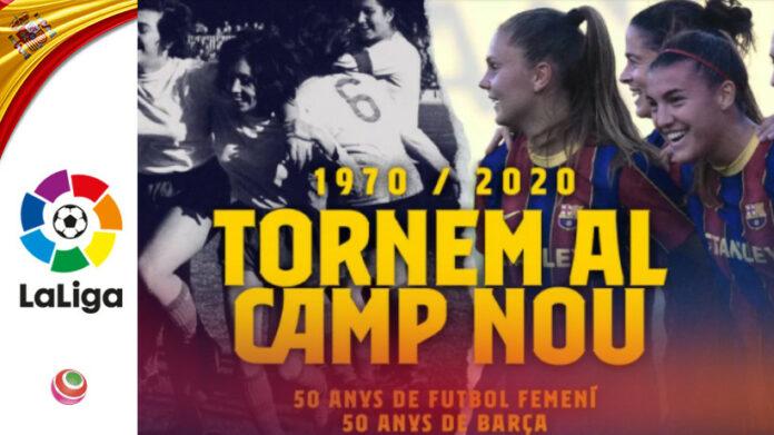 Barcellona - Espanyol al Camp Nou 06 gennaio 2021