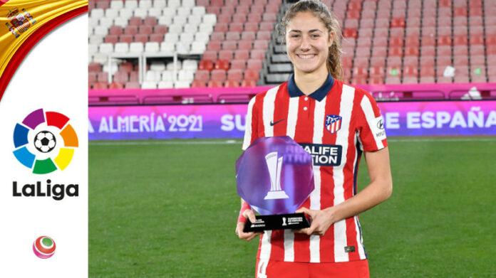 Laia Alexandri, mvp Supercoppa Spagnola, Atlético Madrid