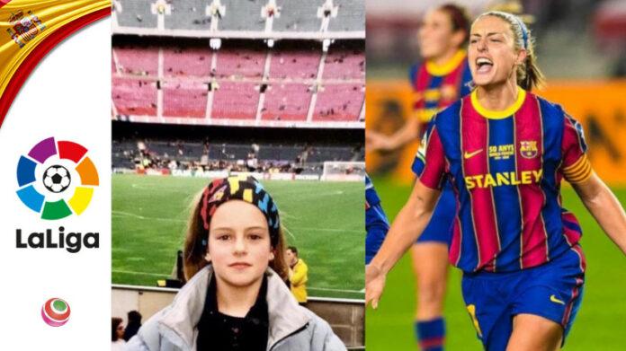 Alexia Putellas Barcelona Camp Nou
