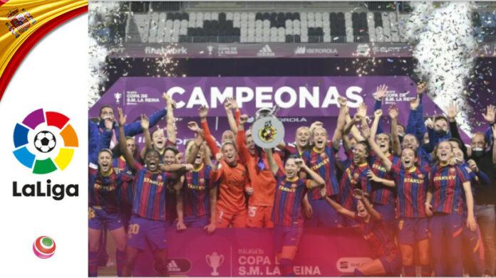 Barcellona - Logrono vittoria finale Coppa della Reina