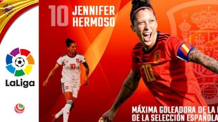Jenni Hermoso, Nazionale Spagnola