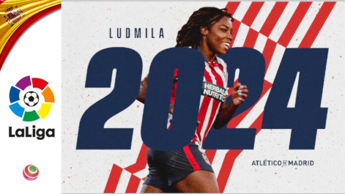 Ludmila all'Atlético Madrid fino al 2024