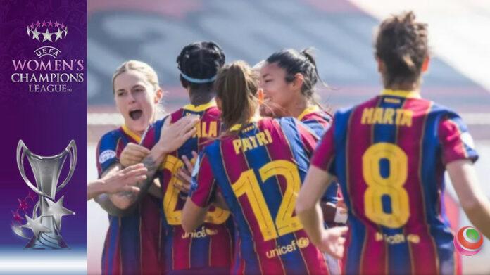 Barcellona - Manchester City Women's Champions League