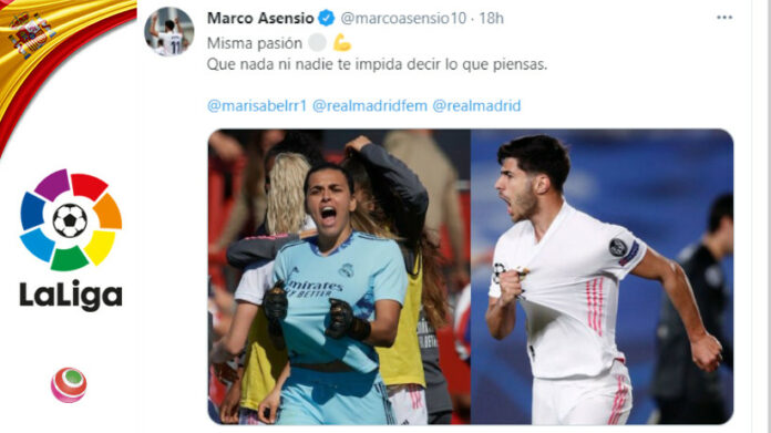 Misa e Marco Asensio