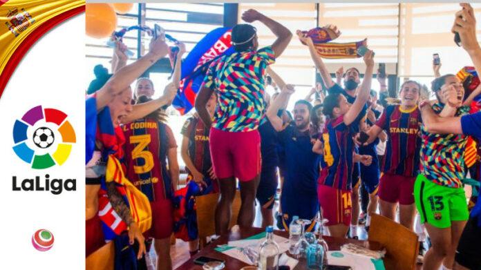 festa vittoria campionato Barcellona