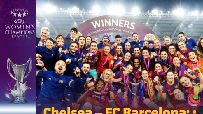 Barcellona campionesse festa
