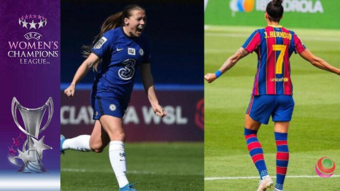 Fran Kirby vs Jenni Hermoso - finale Women's Champions League
