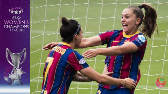 Lieke Martens e Jenni Hermoso - Barcellona-PSG semifinale Women's Champions League