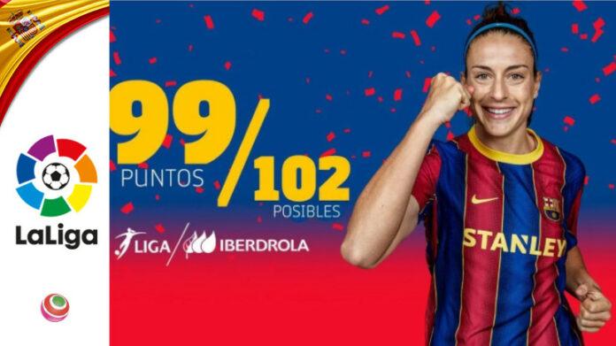 Barcellona, record punti