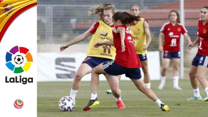 Spagna-Belgio - allenamento prepartita
