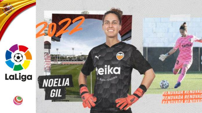 Noelia Gil, Valencia cFF rinnovo
