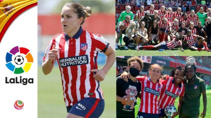 Tatiana Bonetti va via dall'Atlètico Madrid