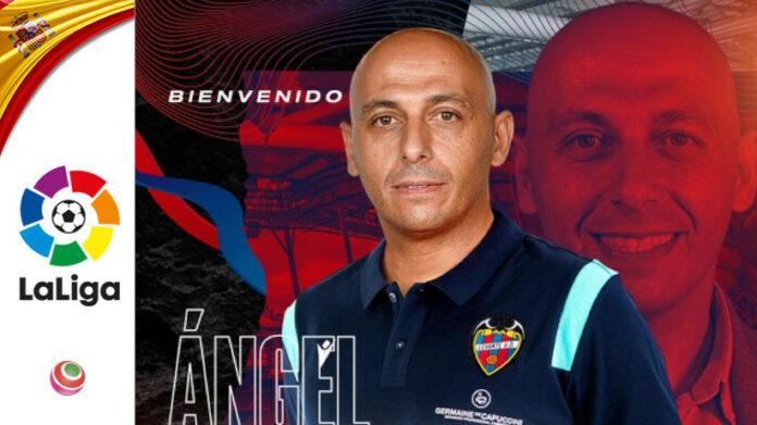 Angel Villacampa nuovo allenatore del Levante