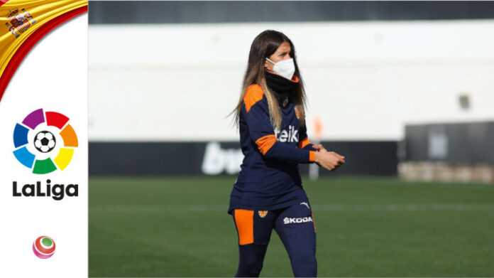 Andrea Esteban, allenatrice Valencia CFF Femminile