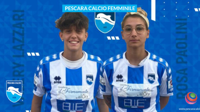pescara-calcio-Rosa-Paolini-Valery-Lazzar