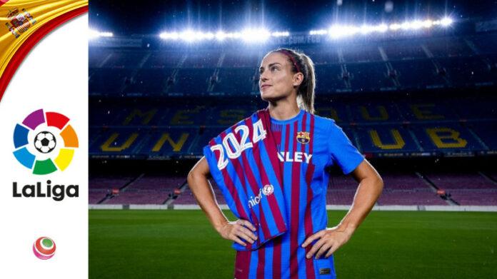 Alexia Putellas, rinnovo 2024, Barcellona