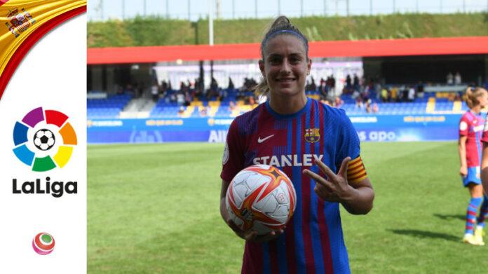 Alexia Putellas, 3 goal in Barcellona-Valencia